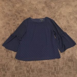 Banana Republic navy blouse